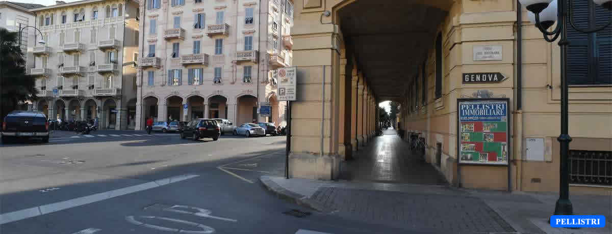 Il nostro spazio espositivo Angolo via Brizzolara – piazza Roma